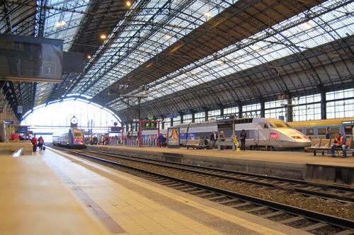 La Gare de Bordeaux St Jean