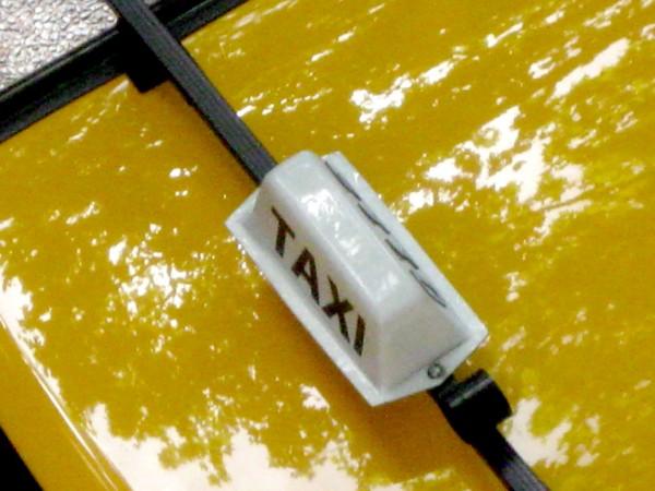 Taxi dans la ville de Bordeaux