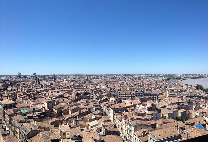 panorama de la ville de Bordeaux