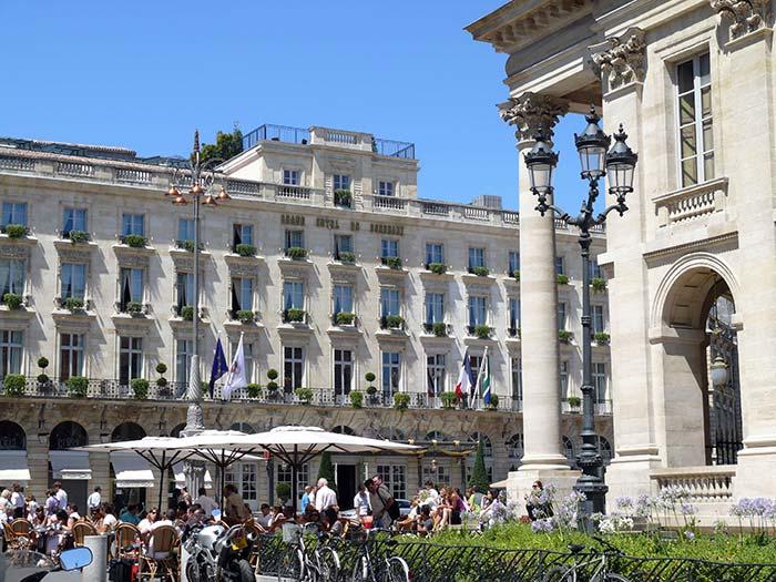 visite de la ville de Bordeaux