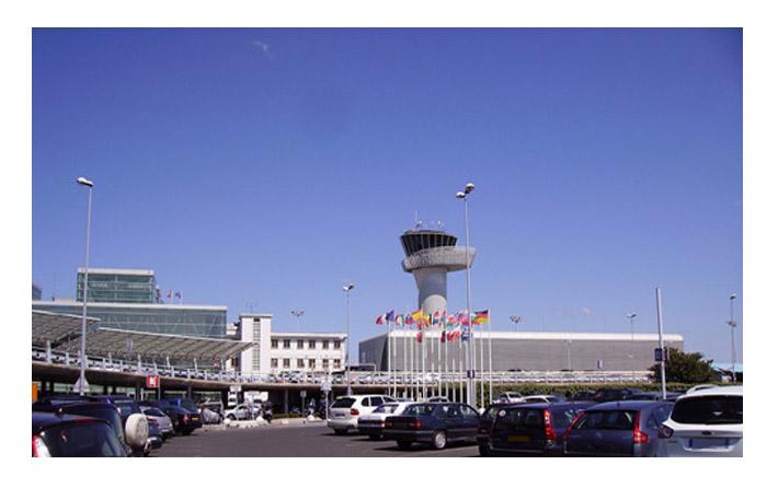 trajet vers l'aéroport Bordeaux Mérignac