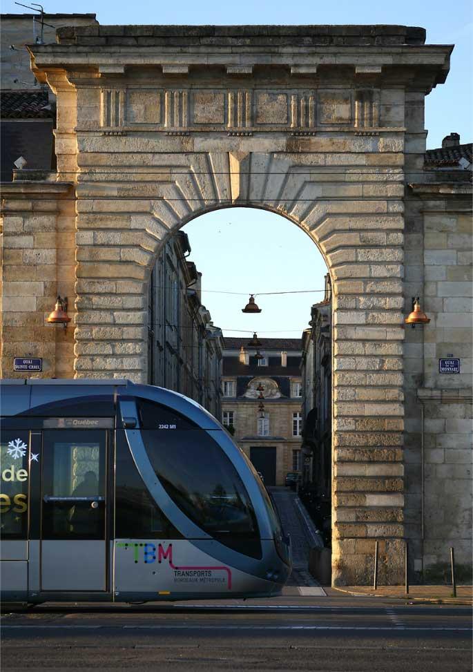 bordeaux vers l'aéroport de Mérignac