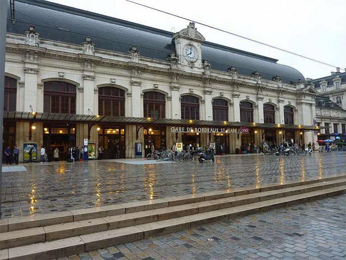 la gare de Bordeaux en temps de coronavirus