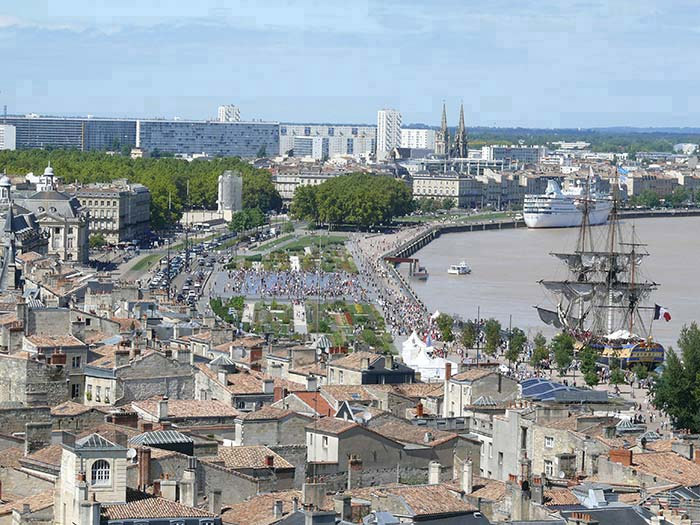 en ville taxi PMR Bordeaux